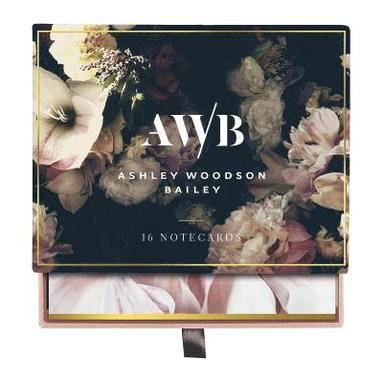 Kort dubbelvikta 16st m kuvert Ashley Woodson Bailey