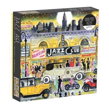 Pussel 1000 bitar Michael Storrings Jazz Age