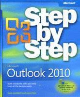 bokomslag Microsoft Outlook 2010 Step by Step