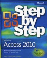 bokomslag Microsoft Access 2010 Step by Step