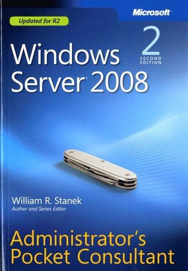 bokomslag Windows Server 2008 Administrator's Pocket Consultant 2nd Edition
