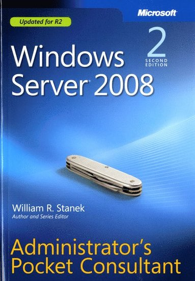 bokomslag Windows Server 2008 Administrator's Pocket Consultant, Second Edition