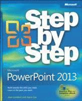 bokomslag Microsoft PowerPoint 2013 Step by Step