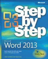 bokomslag Microsoft Word 2013 Step By Step