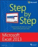 bokomslag Microsoft Excel 2013 Step By Step