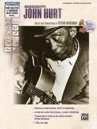 bokomslag Stefan Grossman's Early Masters of American Blues Guitar: Mississippi John Hurt, Book & CD [With CD]