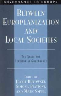 bokomslag Between Europeanization and Local Societies