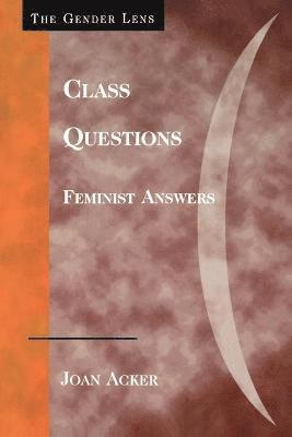 bokomslag Class questions - feminist answers