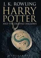 bokomslag Harry Potter and the Deathly Hallows (vuxen)