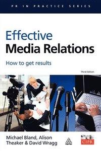 bokomslag Effective Media Relations