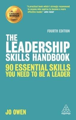 bokomslag Leadership skills handbook - 90 essential skills you need to be a leader