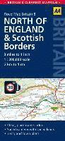 North England & Scottish Borders Road Map