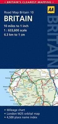 Britain Road Map