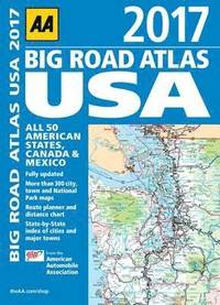 bokomslag AA Big Road Atlas USA: 2017