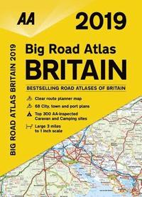 bokomslag AA Big Road Atlas Britain
