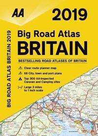 bokomslag AA Big Road Atlas Britain