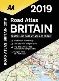 bokomslag AA Road Atlas Britain: 2019