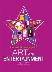 bokomslag The World in Infographics: Art and Entertainment