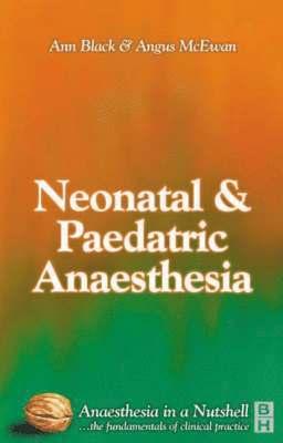 bokomslag Paediatric & Neonatal Anaesthesia