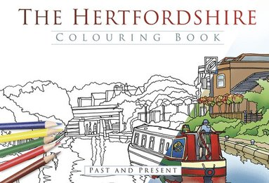 bokomslag Hertfordshire colouring book: past & present
