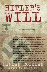 bokomslag Hitler's Will