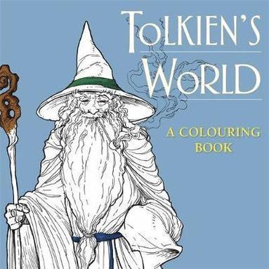 bokomslag Tolkiens world: a colouring book