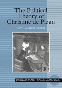 bokomslag The Political Theory of Christine De Pizan