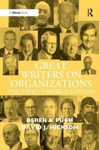 bokomslag Great Writers on Organizations