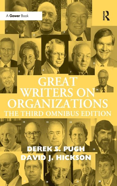 bokomslag Great Writers on Organizations