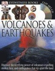 bokomslag Dk Eyewitness Books Volcano Earthquak