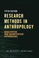 bokomslag Research Methods in Anthropology: Qualitative and Quantitative Approaches