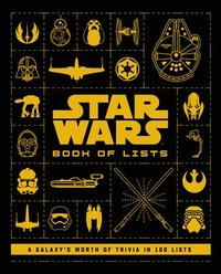bokomslag Star Wars: Book of Lists: A Galaxy's Worth of Trivia in 100 Lists