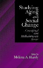 bokomslag Studying Aging and Social Change
