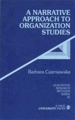 bokomslag A Narrative Approach to Organization Studies