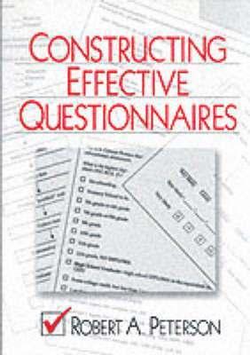 Constructing Effective Questionnaires 1