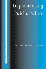 bokomslag Implementing public policy : governance in theory and in practice