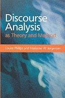bokomslag Discourse analysis as theory and method