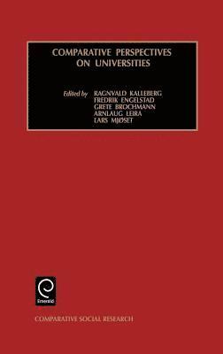bokomslag Comparative Perspectives on Universities