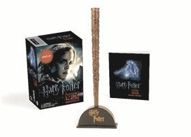bokomslag Harry potter hermiones wand with sticker kit - lights up!