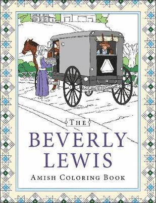 bokomslag Beverly lewis amish coloring book