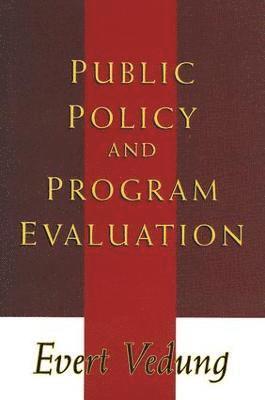bokomslag Public Policy and Program Evaluation