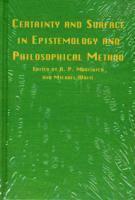 bokomslag Certainty & Surface In Epistemology &