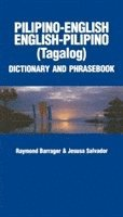 bokomslag Pilipino-English, English-Pilino Phrasebook and Dictionary