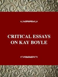 bokomslag Critical Essays on Kay Boyle