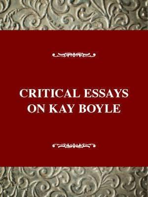 bokomslag Critical Essays on Kay Boyle