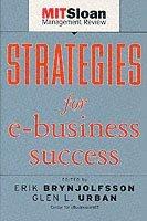 bokomslag Strategies for E-Business Success