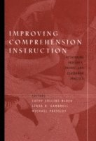 bokomslag Improving Comprehension Instruction: Rethinking Research, Theory, and Class