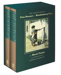 bokomslag The Adventures of Tom Sawyer and Huckleberry Finn