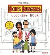 bokomslag Official bobs burgers colouring book