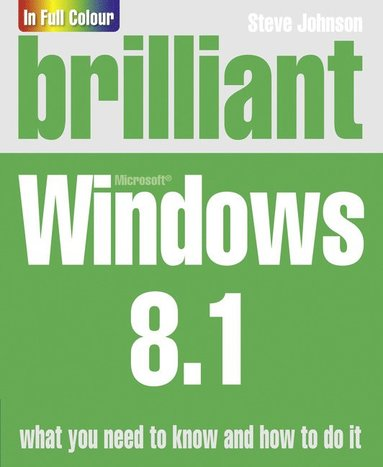 bokomslag Brilliant Windows 8.1
